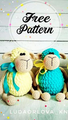 Patrón de ganchillo gratis Amigurumi de peluche de oveja Part Crochet Patterns Amigurumi, Amigurumi Doll, Crochet Toys, Free Crochet, Knitting Patterns, Crochet Sheep Free Pattern, Amigurumi Free, Plush Pattern, Easy Knitting Projects