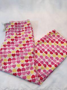 Pink Victoria's Secret Pajama Bottoms Pants Hearts I Only Sleep in Pink Dog M | eBay