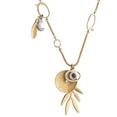 Links of London WOM Serenity 18K Gold Necklace.