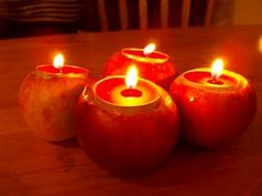 pinterest 365 day twenty: my version of apple candles for a cold winters night, photo found on tumblr from are so happy :)