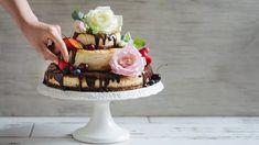 Svatební dort, který si upečete sami: třípatrový cheesecake