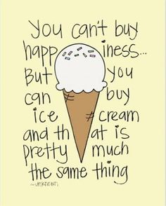 Especially when you eat it with friends. I love icecream =) hehe #fridays