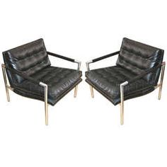 Pair of  Harvey Probber Lounge Chairs thumbnail 1