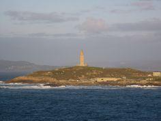 Torre de Hércules & Casa de los Peces, A Coruña