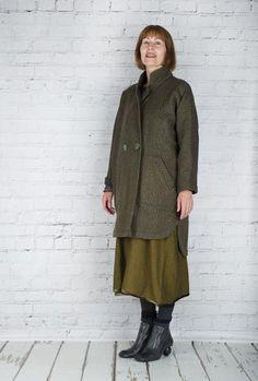 #TM Collection #Coat Air Vide TM15512 (Moss Back)  #fashion #walkers #winter #season