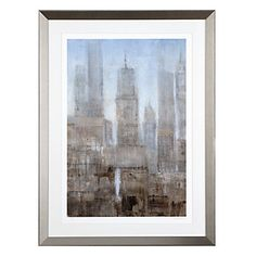 Make your walls more metropolitan with City Midst 1 by Tim O'Toole.