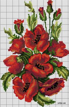 Cross Stitch Rose, Cross Stitch Flowers, Cross Stitch Charts, Cross Stitch Designs, Cross Stitch Patterns, Cross Stitching, Cross Stitch Embroidery, Dimensions Cross Stitch, Stitch Book