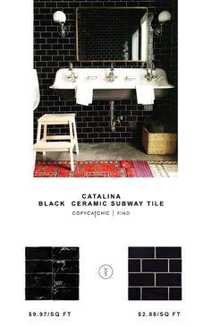 Achieve A Modern Farmhouse Bathroom Design By Combining Traditional - Bulk subway tile