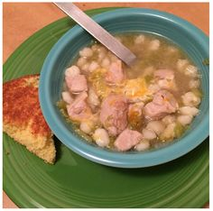 Green Chile Posole #NewMexico #Recipe Photo By: Instagram.com/h.wren