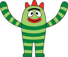 yo gabba gabba pictures to printable pictures | Brobee Print-It #yo #gabba #gabba ... | Party Theme: Yo Gabba Gabba