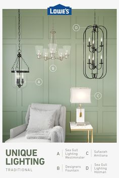 Shop lighting and ceiling fans like chandeliers, wall sconces and deck lighting. We offer brands like allen + roth®, GE and Kichler. Le Lighting, Dining Room Lighting, Unique Lighting, Outdoor Lighting, Lighting Design, Lighting Ideas, Outdoor Garden Rooms, Bedroom Ideas Pinterest, Ceiling Fan