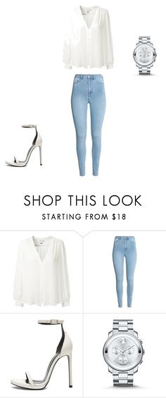 """Untitled #670"" by kimberly58227 ❤ liked on Polyvore featuring Erin Fetherston, Yves Saint Laurent and Movado"