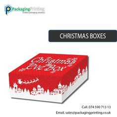 Custom Christmas Boxes Packaging at Wholesale