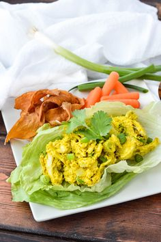 AIP Paleo Avocado Turmeric Chicken Salad| cleaneatingveggiegirl.com
