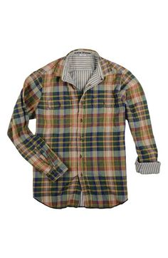 Tailor Vintage Reversible Twill Woven Shirt (Little Boys & Big Boys) available at #Nordstrom