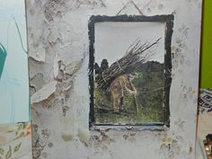 Led Zeppelin IV Zoso Vintage Vinyl from the 1970's LP  The Hermit Black Dog Rock and Roll Stairway to Heaven Battle of Evermore