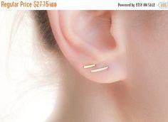 Verkoop - Edgy Stud Oorbellen Set - Gold Pin hengsten oorbellen instellen - Gold…