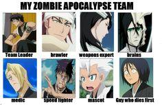 Bleach Zombie Apocalypse Meme by Lovelorne.deviantart.com on @deviantART