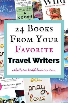 Discover 11 inspirational and famous travel writers along with 24 of their best travel books to inspire wanderlust around the world. Best Travel Books, Literary Travel, Reading Lists, Book Lists, Reading Time, Book Club Books, Books To Read, Books By Black Authors, Indie Books
