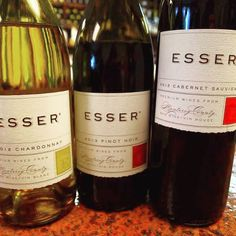 This week everything is Over 90 Pt and Under $20....   Esser is In!   #esservineyards #winetasting #chardonnay #pinotnoir #cabernetsauvignon #wineenthusiast #winelover #winetime #instawine #vino #wines #lakewoodny #cheers