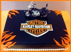 Harley Davidson motorcycle cake - Google Search