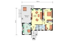 case-frumoase-beautiful-house-plans-7 Beautiful House Plans, Beautiful Homes, Small House Design, Floor Plans, How To Plan, Cherry, Dream Homes, Home Plans, Cottage Style Houses