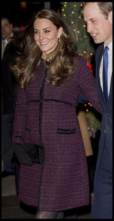 Kate Middleton toont babybuikje in New York - Het Nieuwsblad