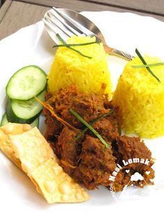 Nasi Lemak Lover: Beef Rendang