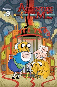 Adventure Time comic #9