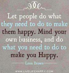 Do what makes you happy quote via www.LifeLifeHappy.con