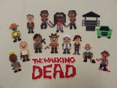 The Walking Dead Bead Sprites