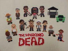 The Walking Dead Bead Sprites