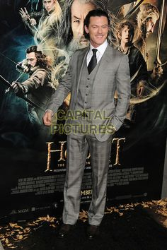 HOLLYWOOD, CA - DECEMBER 02: Luke Evans attends the premiere of 'The Hobbit: The Desolation Of Smaug' at TCL Chinese Theatre on December 2, 2013 in Hollywood, California. <br /> CAP/ADM/BP<br /> ©Byron Purvis/AdMedia/Capital Pictures
