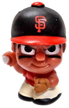 4c038d06701 MLB TeenyMates Series 2 Pitchers San Francisco Giants Mini Figure #sfgiants  #SanFranciscoGiants
