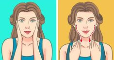 A Japanese Facial Massage That Can Rid You Of Swelling and Wrinkles In 5 Minutes a Day (Famous Supermodels Swear by It) Lulu Hairstyles, Lip Wrinkles, Facial Yoga, Facial Exercises, Massage Benefits, Face Massage, Upper Lip, Facial Care, Facial Tips