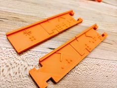 Download the files for the 3D printed Braille Coding Tiles by rmorrill