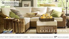 Seagrass Trunks & Holbrook Sectionals | Pottery Barn