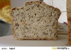 Bezlepkový chléb s pohankovou moukou recept - TopRecepty.cz Gluten Free Recipes, Healthy Recipes, Bubble Tea, Biscotti, Healthy Life, Banana Bread, Food And Drink, Cooking Recipes, Vegan