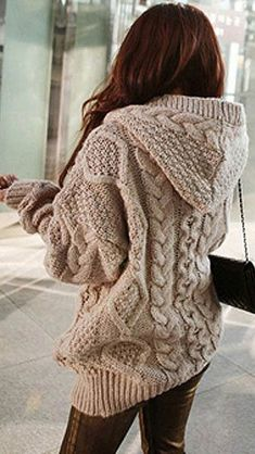 Need to add this sweater to my wardrobe! - Knitting Journal Sweater Dresses, dress, clothe, women's fashion, outfit inspiration, pretty clothes, shoes, bags and accessories