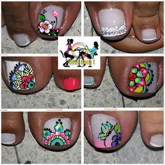 Toe Nails, Pretty, Instagram Posts, Finger Nails, Nail Art Designs, Toe Nail Art, Pretty Toe Nails, Cute Nails, Short Nail Manicure