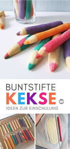 [Rezept] Colored pencil biscuits for schooling: Edible biscuit pencils[Rezept] Crayon -.-[Rezept] Buntstift-Kekse zur Einschulung: Essbare Keksstifte-[Rezept] Buntstift-… [Recipe] colored pencil biscuits for schooling: edible … - School Enrollment, Bbq Pitmasters, Edible Cookies, Edible Arrangements, Homemade Baby Foods, Le Diner, Biscuit Recipe, Food Lists, No Bake Cake
