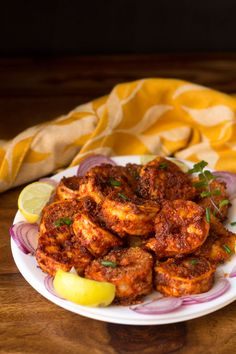 Prawns Recheado Masala Recipe with step by step photos. Prawns recheado is a spicy, hot, tangy, reddish-orange famous goan masala used mainly for fish.