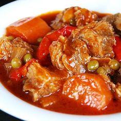 Caldereta -- http://www.pinterest.com/ronleyba/filipino-recipes-philippine-foods-filipino-dish/