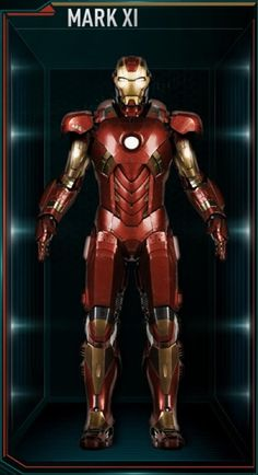 Check out every Iron Man armor in the MCU starting with Mark I