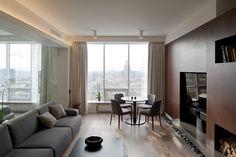 ♥ Квартира с панорамным видом в Москве