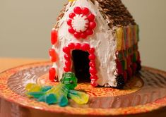 This gingerbread house dough recipe, while edible, is not meant to be eaten. It is firm and sturdy enough to support decorations and royal icing. Homemade Gingerbread House, Gingerbread Dough, Gingerbread Houses, Gluten Free Marshmallows, Piping Icing, How To Make Snow, Thing 1, Cake Toppings, Dough Recipe