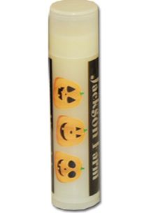 Glow In the Dark Lip Balm. Your customized business name on here.