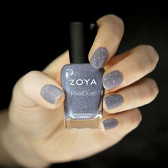 Love this MATTE glitter polish from @Zoya Zinger Nail Polish! What will they think of next?