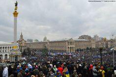 Евромайдан 1 декабря 2013 года. фото: Владимир Филиппов