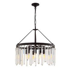 You'll love the Retinne 10-Light Crystal Chandelier at Wayfair - Great Deals on all Lighting products with Free Shipping on most stuff, even the big stuff.